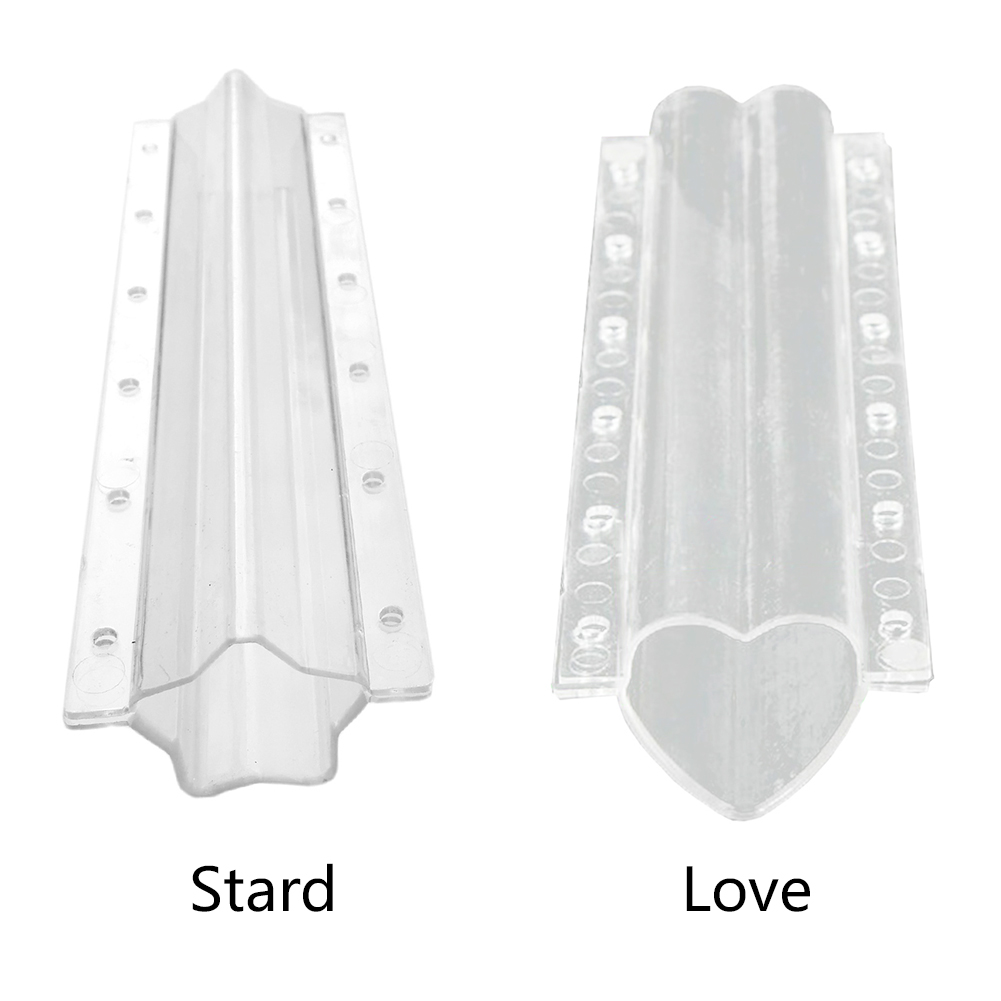 Heart Shaped Fruit Tool Plant Pressure Resistance Shaping Non Toxic Vegetables Cucumber Mold Clear Garden Kitchen Growth Forming
