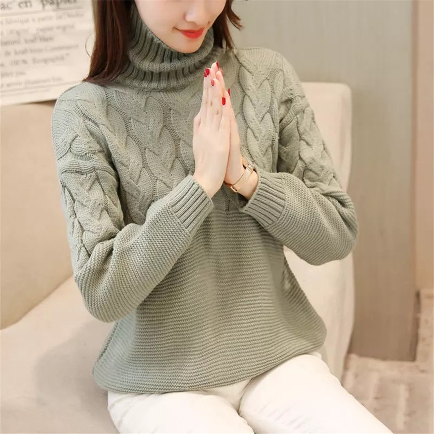 8. DEWBEST New warm women s wool sweater 731a8d132