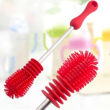 Baby's Bottles Scrubbing Silicone Cleaning brush For Washing Cleaning
