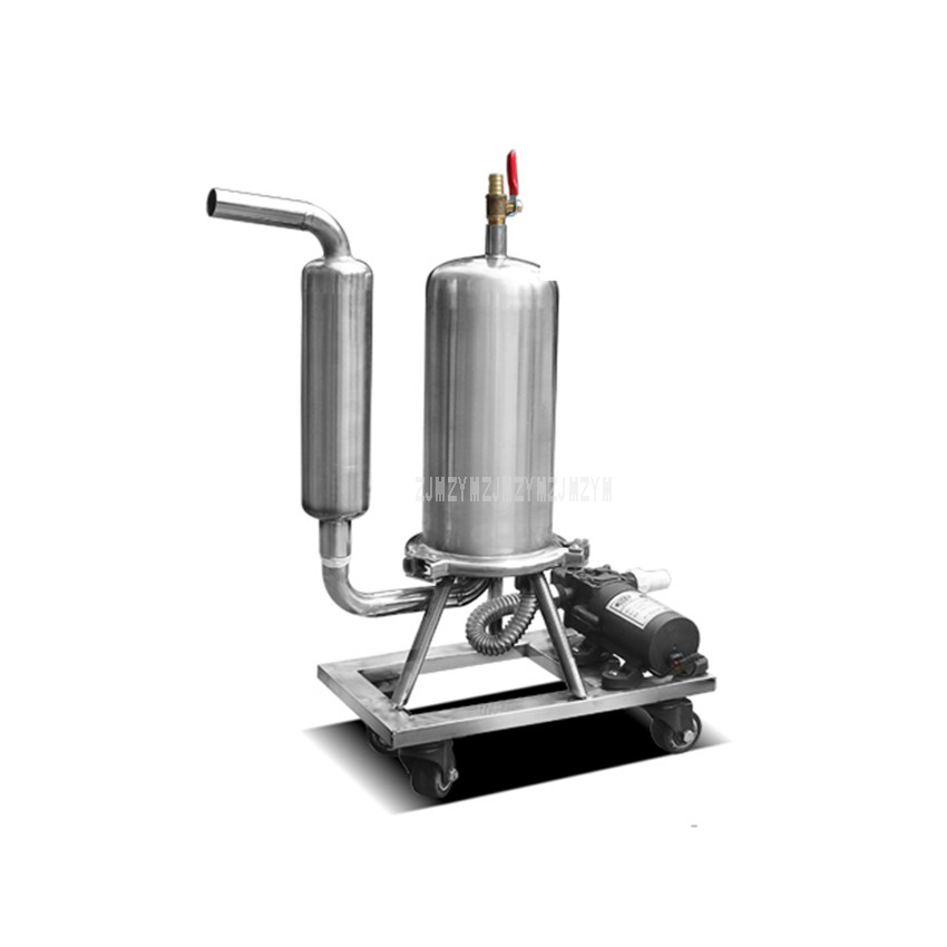 Stainless Steel Liquor Filter Automatic Liquor Aging Machine Fruit Beer Wine Catalyzing Aging Filter Equipment Household TypeStainless Steel Liquor Filter Automatic Liquor Aging Machine Fruit Beer Wine Catalyzing Aging Filter Equipment Household Type