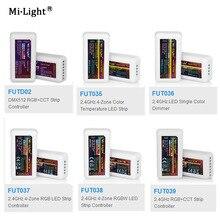 все цены на 2.4G RF Wireless single color dimmer CCT RGB RGBW DMX512 RGB+CCT FUT035 FUT036 FUT037 FUT038 FUT039 FUTD02 led strip controller онлайн