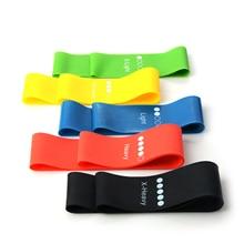 MrY 5 цветов фитнес, йога, пилатес Эспандеры эластичные спортивные тела латексный ремень силы руки бедра силовой тренировочный Тяговый ремень
