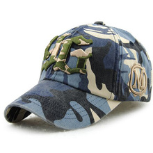 European Camouflage Letter Brand Snapback Adult Baseball Cap Fashion Leisure Cotton Hats For Women And Men 5 Colors