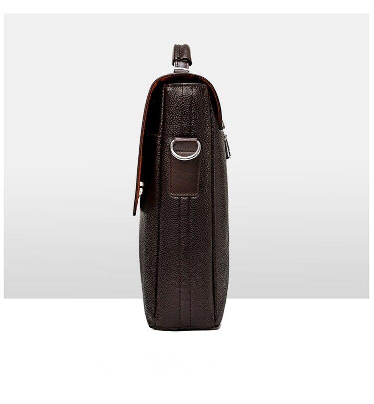 HTB10WN SCzqK1RjSZFjq6zlCFXaC Famous Brand Business Men Briefcase Leather Laptop Handbag Casual Man Bag For Lawyer Shoulder Bag Male Office Tote Messenger Bag