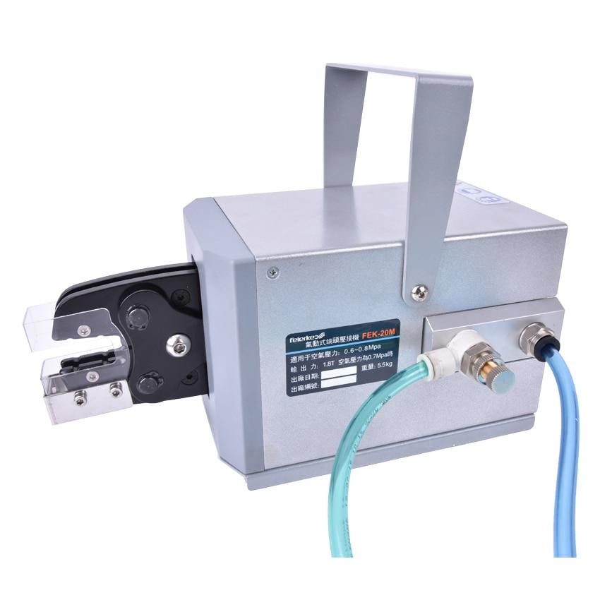 FEK-20M Pinze a crimpare pneumatiche Tipo Piegatore per macchina per - Utensili elettrici - Fotografia 6