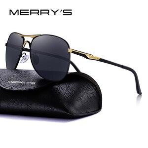 Image 2 - MERRYS DESIGN mężczyźni klasyczne okulary pilotażowe HD polaryzacyjne okulary przeciwsłoneczne dla mężczyzn jazdy luksusowe odcienie ochrona UV400 S8712