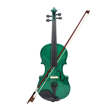 Basswood 4/4 Full Size Violin Fiddle for Kids Beginners Steel String Arbor Bow Stringed Instrument