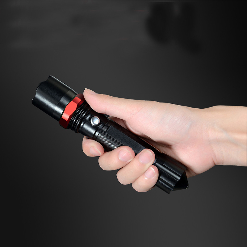 20Ste Rechargeable Flash LED Flashlight Zoomable Flashlight Hunting Flashlight DHL Free shipping