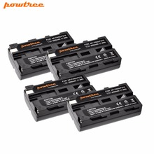 4X NP-F550 NP F550 NPF550 Camera Battery for Sony NP-F330 NP-F530 NP-F570 NP-F730 NP-F750 Hi-8 GV-D200 D800 TRV81 SC55 L10 цена и фото