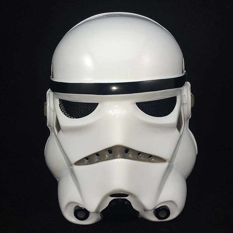 New Star Wars Darth Vader Stormtrooper Full Face Masker Helm Tema Pesta Kostum Halloween Superhero Cosplay Tentara Topeng