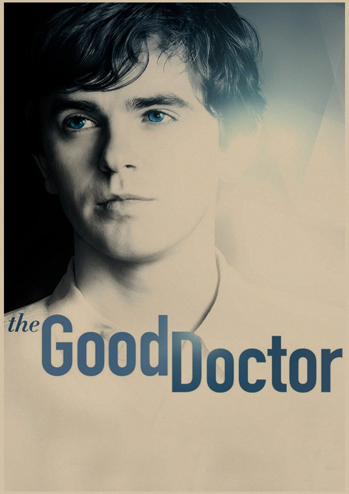 """Home Decorator) Wall Stickers) Movie posters """"good doctor."""" retro Kraft Paper poster Decoration"""