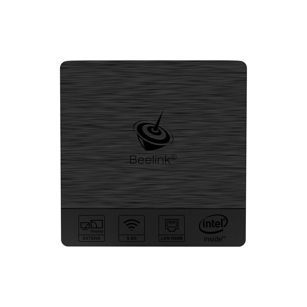 Оригинальный beelink BT3 Pro Мини-ПК 2.4/5.8 ГГц Wi-Fi Bluetooth 4.0 max 4 ГБ Оперативная память + 64 ГБ Встроенная память оконные рамы 10 Intel Atom x5-z8350 64bit