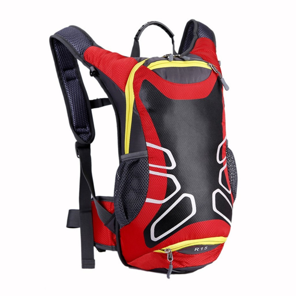 15L Large Capacity Unisex Waterproof Nylon <font><b>Cycling</b></font> Bag MTB Bike Sports Running Backpack Outdoor Hiking Sports Backpack paquete