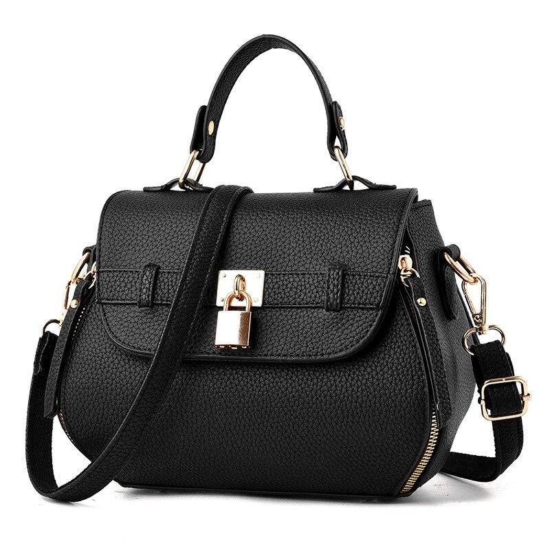 Fashion women leather handbag brand women bags casual messenger bags shoulder bag leather handbags women's pouch bolsas DJB123