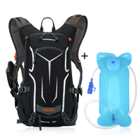 2L SGS Camping Hiking Water Bag Drink Pouch+ Lixada18L Cycling Bicycle Bike Shoulder Backpack Ultralight Outdoor Sports