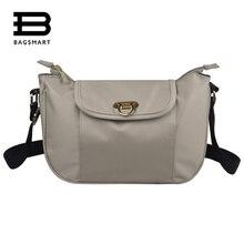 BAGSMART Nylon Frauen Schulter Taschen Hobos Designer Handtaschen Für Frauen 6 Farbe Crossbody Tasche Damen Messenger Bags Bolso