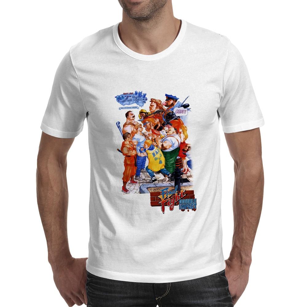 Fight You Finally T Shirt Nostalgic Arcade Game Design Creative Novelty T-shirt Print Skate Anime Unisex Tee