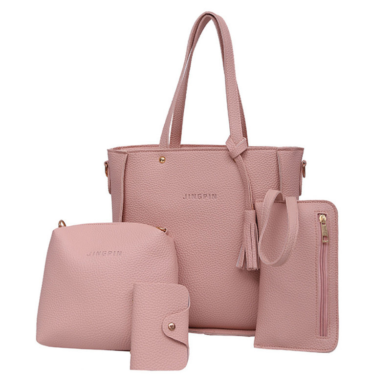 KUNZITE Women Shoulder Bags PU Leather Casual Daily Tote Bag Fashion Portable Handbag for Ladies and Girls