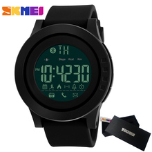 SKMEI Brand Men's Women Smart Sport Watch Bluetooth Calorie Pedometer Fashion Watches Apple IOS Android Men Digital SmartWatch