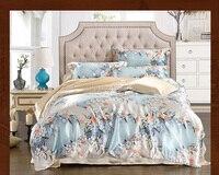 Mulberry Silk Bedding Set 16 Mommie Silk Fabric King Size Duvet Cover Flat Sheet Pillowcase Luxury Naked Sleeping Bedding Sets