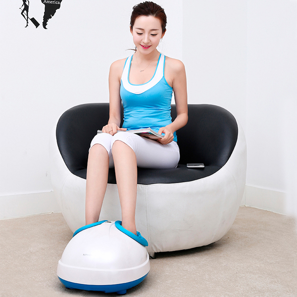 High Quality 360 Degree All-around Health Care Far Infrared Magnetic Electric Roller Foot Massager Machine As Seen On Tv 2015 360 degree all around foot massager far infrared magnetic electric roller acupressure blood circulation foot massager for sale
