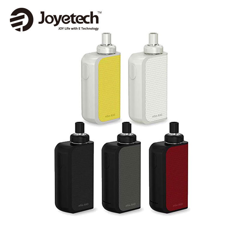 100% Original Joyetech EGO AIO Box Kit 2100mAh Battery W/ 2ml Tank Atomizer BF SS316 Coil All IN One Vaping Joyetech AIO Kit
