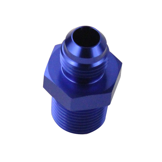 AN 6 to 3/8 NPT Straight Adapter Flare Fitting Male 3