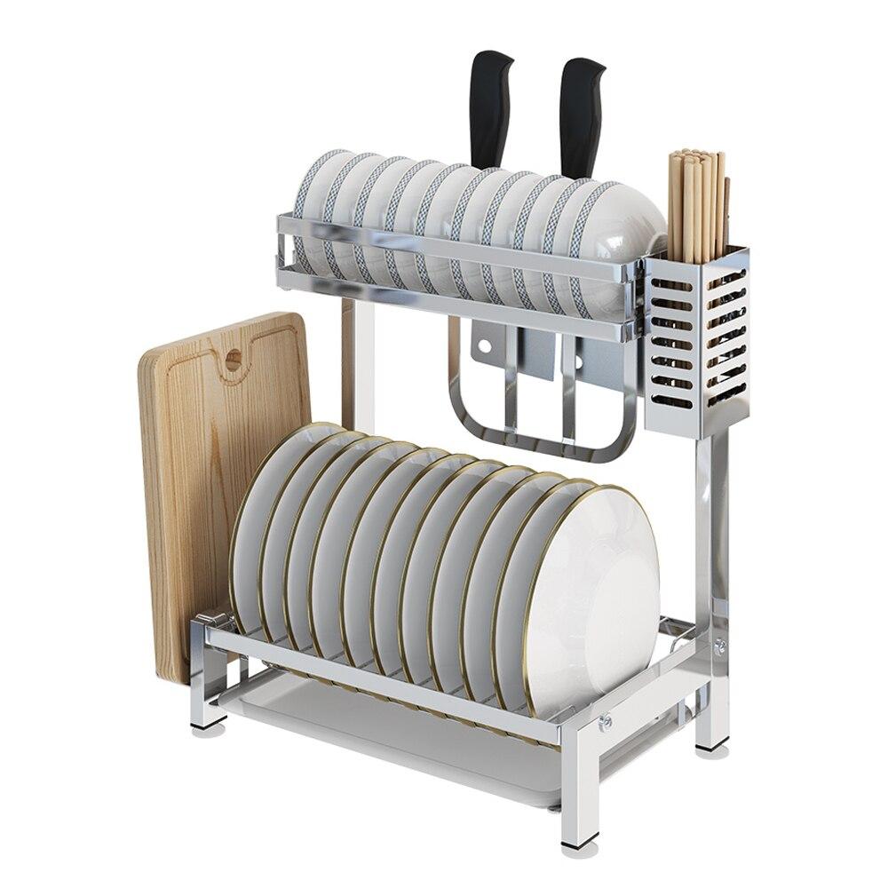 A1 304 in acciaio inox mensola della cucina rastrelliere di essiccazione tavolo ciotola di scarico rack di stoccaggio stoviglie box rack di stoccaggio piatti wx8141101A1 304 in acciaio inox mensola della cucina rastrelliere di essiccazione tavolo ciotola di scarico rack di stoccaggio stoviglie box rack di stoccaggio piatti wx8141101