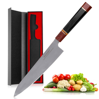 Mokithand 9 Inch Japanese VG10 Chef Knives High Carbon Damascus Steel Kitchen Knife Sharp Stainless Steel Fish Filleting Knife