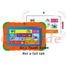 Tablette écran tactile de 7 pouces, pour TurboKids S5/turbokidss5, pour appel téléphonique, capteur tactile en verre, nouveau