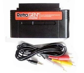 For Retro-Gen For Sega For Genesis To For Nintendo For SNES Cartridge Adapter Convertor