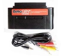 For Retro-Gen for Sega Genesis to Nintendo SNES Cartridge Adapter Convertor