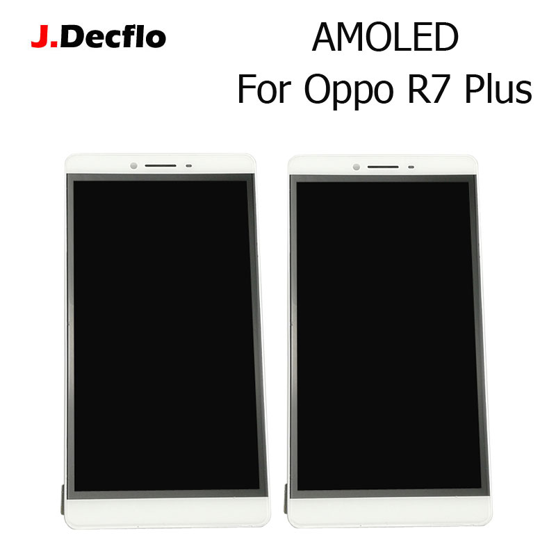 Original 100% Tested 6.0 Inch Amoled LCD + Touch Screen Without Frame Digitizer Assembly Replacement For Oppo R7 Plus WhiteOriginal 100% Tested 6.0 Inch Amoled LCD + Touch Screen Without Frame Digitizer Assembly Replacement For Oppo R7 Plus White