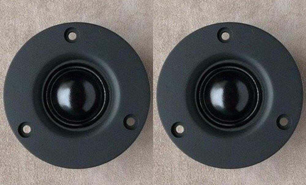 Unterhaltungselektronik Ehrlich 2 Teile/los Audio Labs Hifi Sill Soft-dome Lautsprecher Hochtöner Einheit 3 größe 6ohm Und Ohm Für Wählen
