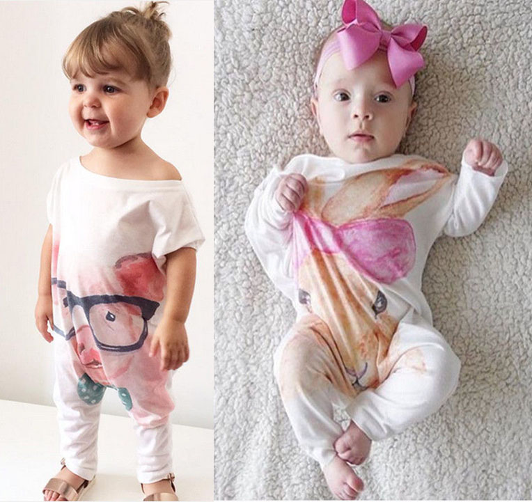 2016 Retail New Fashion Baby Romper Clothing Body Suit Newborn Long Sleeve Kids Boys Girls Rompers Baby Clothes Roupa Infantil unisex baby rompers cotton cartoon boys girls roupa infantil winter clothing newborn baby rompers overalls body for clothes