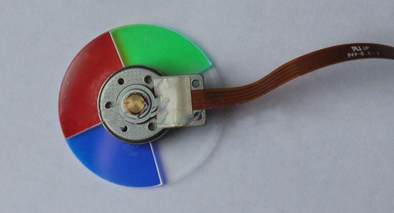 T90 projector color wheel 4 segment 44mm 100% new