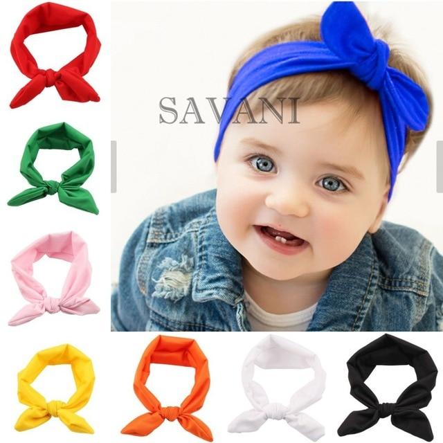 1 STÜCKE Baby handband Satin stirnbänder neugeborene Fotografie Prop ...