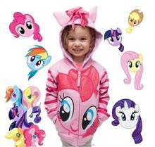 Little Pony Girls abrigo primavera dibujos animados algodón novedad niños sudaderas para niñas niños abrigos Encantadores Niños ropa niños ropa