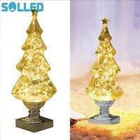 SOLLED Creative Wishing Tree Shape Stars Light Bright LED Beautiful Decorative Desk Reading Lamp Romantic Lighting
