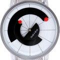 Gire o Dial Relógios Dos Homens do Projeto Dos Homens Banda de Aço Inoxidável Marca de Luxo Vestido de Relógio De Quartzo Do Vintage Reloj Relogio masculino TC2247