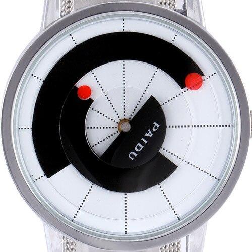 Rotate Dial Design Men s Watches Men Luxury Brand Stainless Steel Band Quartz Watch Vintage Dress