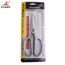 RDEER Industrial Scissors Stainless Steel Leather/Fishing nets/Fabric/Craft Sewing Scissors Multifunctional Pruning Tools