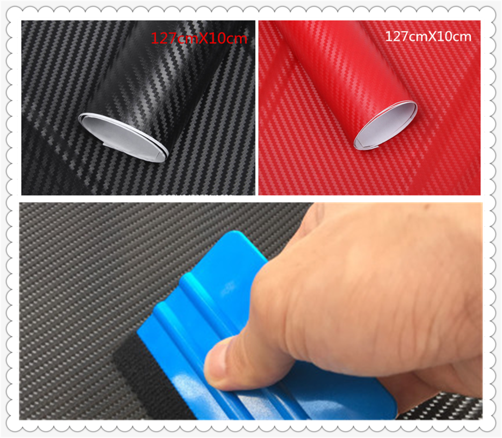Car carbon fiber stickers 3D stereo motorcycle color film graffiti for <font><b>Mercedes</b></font> Benz ML500 ML350 GL450 B200 <font><b>B150</b></font> CLK63 R F700 image