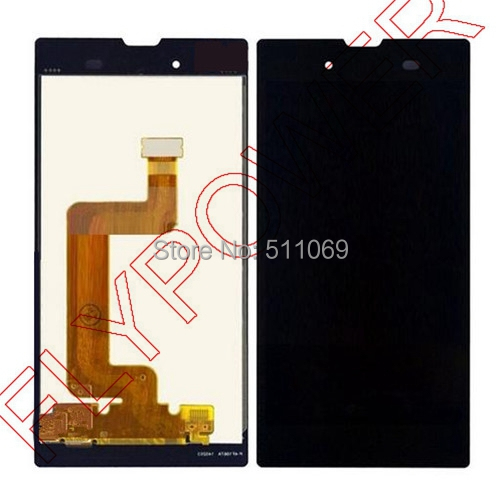 For Sony for Xperia T3 LCD Screen Display with Touch Screen Digitizer Assembly by free shipping; Black color; 100% warranty black lcd display touch screen digitizer assembly for sony xperia z2 d6502 d6503 d6543 l50w