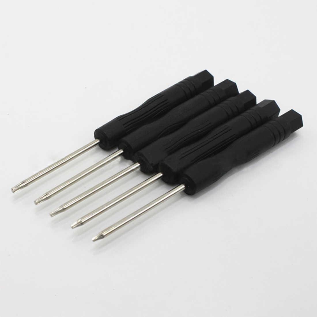 T2 T3 T4 T5 T6 Прецизионная отвертка Torx 5 шт. Набор для ремонта мобильных телефонов ручной инструмент Многофункциональный черный мини-отвертка