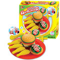 3D color plasticine clay suit parent-child interactive toys burger set mold intelligent playdough