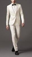 2018 последние конструкции пальто брюки цвета слоновой кости вечерние пользовательские пляжные жениха Best Для мужчин Блейзер смокинг Свадебн