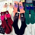 Europe tube socks  tide brand fox piles socks female fashion tide pile socks
