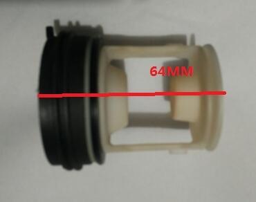 Universal Type Washing Machine Parts Drain Pump Filter Cap Plastic Plug