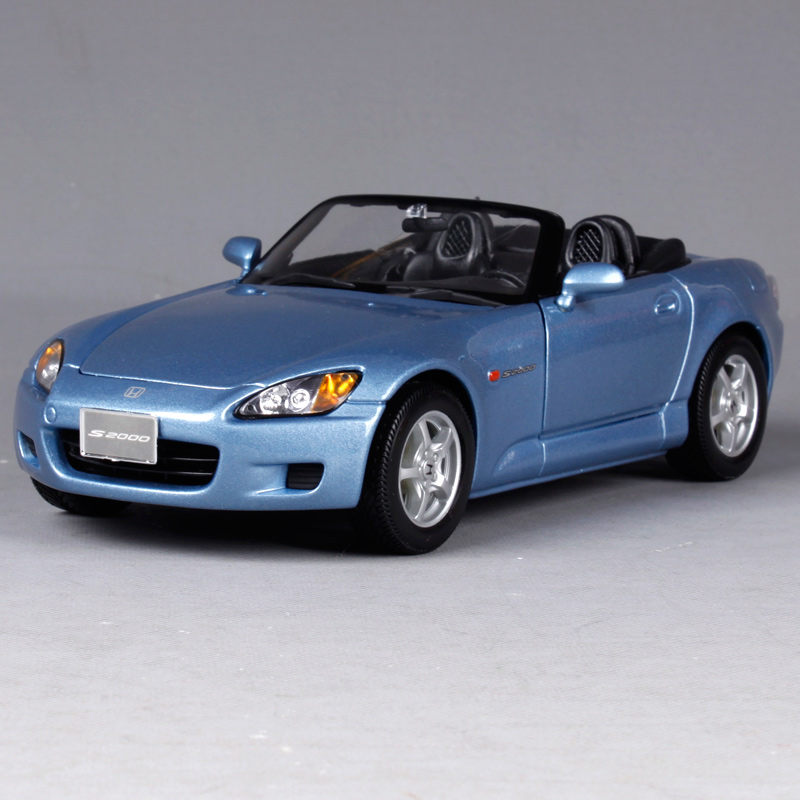 Maisto 1:18 HONDA S2000 Roadster Diecast Model Car Toy New In Box Free Shipping 31879 1 18 otto renault espace ph 1 2000 1 car model reynolds